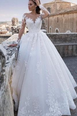 Robes de mariée chic princesse   Robes de mariée avec dentelle_1