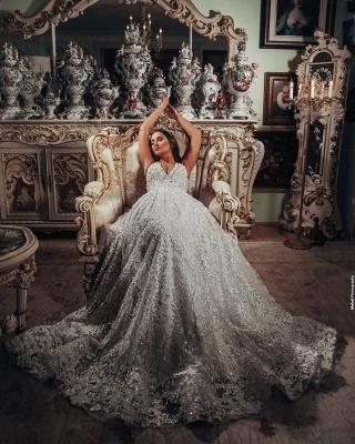 Superbes robes de mariée Une ligne   Robes de mariée en dentelle_4