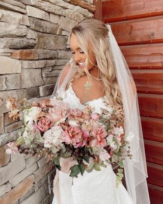 Belles robes de mariée sirène   Robes de mariée avec dentelle_2