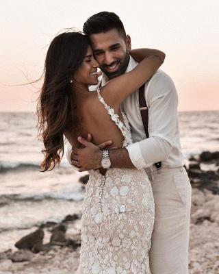 Robes de mariée de créateur sirène | Robes de mariée en dentelle_7