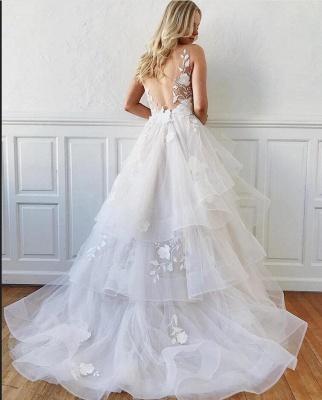 Robes de mariée modernes Ligne A | Robes de mariée avec dentelle_2