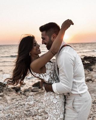 Robes de mariée de créateur sirène | Robes de mariée en dentelle_5