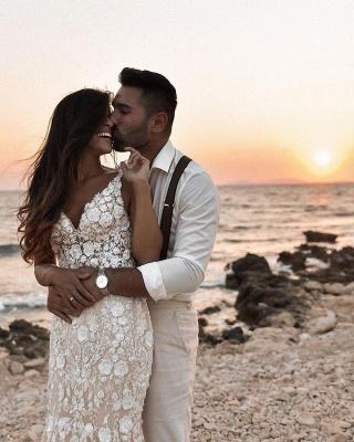 Robes de mariée de créateur sirène | Robes de mariée en dentelle_4