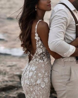 Robes de mariée de créateur sirène | Robes de mariée en dentelle_6