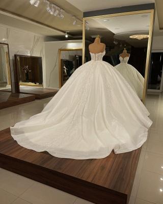 Robes de mariée extravagantes en ligne | Robes de mariée princesse pailletée_2