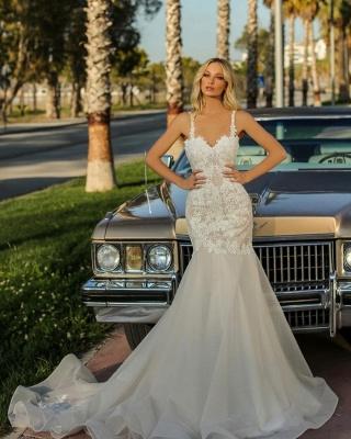 Robes de mariée de créateur sirène   Robes de mariée pas cher en ligne_2