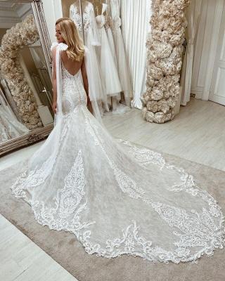 Robes de mariée sirène 2021 | Robes de mariée en dentelle_2