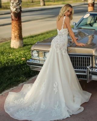 Robes de mariée de créateur sirène   Robes de mariée pas cher en ligne_3