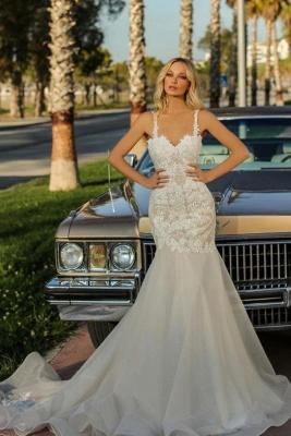 Robes de mariée de créateur sirène   Robes de mariée pas cher en ligne_1