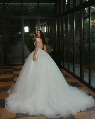 Robes de mariée de luxe Une ligne   Robes de mariée à paillettes_3