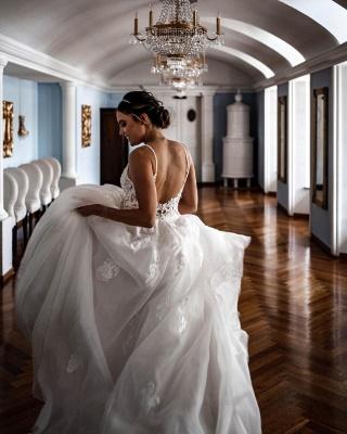 Robes de mariée élégantes A Line Lace   Robes De Mariée Pas Cher En Ligne_2