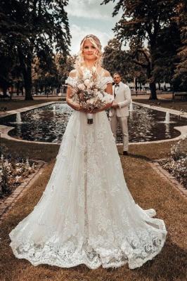 Robes de mariée de créateurs Une ligne de dentelle | Mode nuptiale en ligne_1
