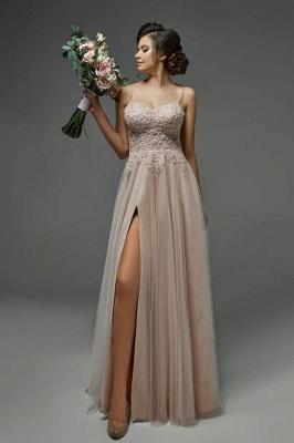 Robe de mariée simple avec dentelle | Robes de mariée_1