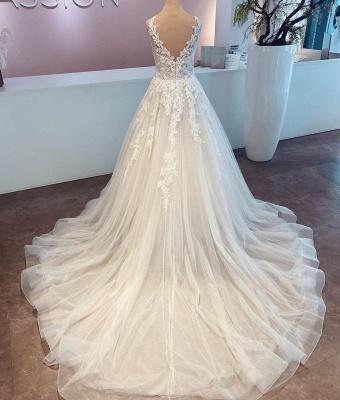 Robes de mariée pas chères avec dentelle | Robes de mariée Une ligne_2