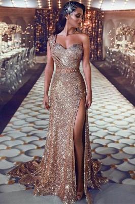 Robe de soirée longue pailletée brillante | robe de soirée cérémonie chic_2