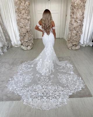 Robes de mariée de créateur sirène | Dentelle De Mariée en ligne_4