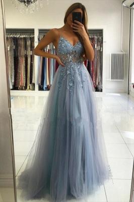 Robes de soirée de luxe bleu | Robes de bal longues paillettes