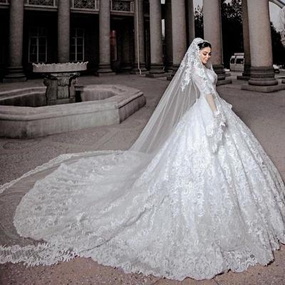 Robes de mariée princesse en ligne | Robes de mariée à manches_2