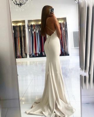 Robe de soirée longue unie | Robes De Soirée De Bal en ligne_3