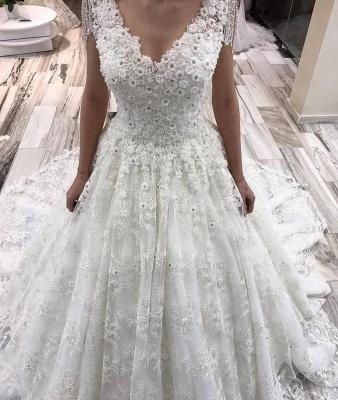 robe mariée manche longue | robe pour mariage_2