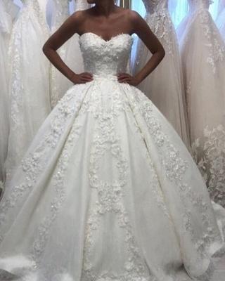 Robe de mariée élégante princesse | Belle robe de mariée avec dentelle_3