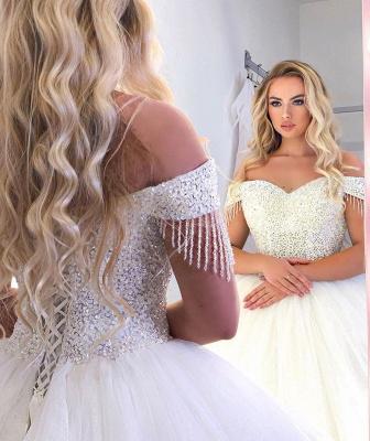 Robes de mariée extravagantes princesse   Robes de mariée pas cher en ligne_4
