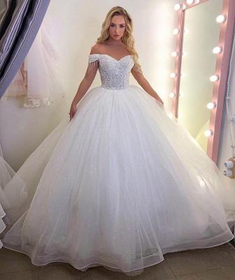 Robes de mariée extravagantes princesse   Robes de mariée pas cher en ligne_2