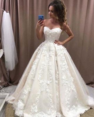 Robe de mariée élégante princesse | Belle robe de mariée avec dentelle_2