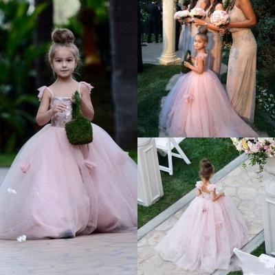 Forme Princesse Longueur ras du sol Tulle robe pour fille_4