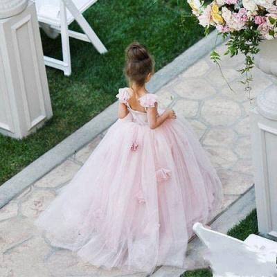 Forme Princesse Longueur ras du sol Tulle robe pour fille_2