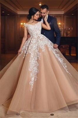 robe de mariée princesse   robe de cérémonie dentelle_1