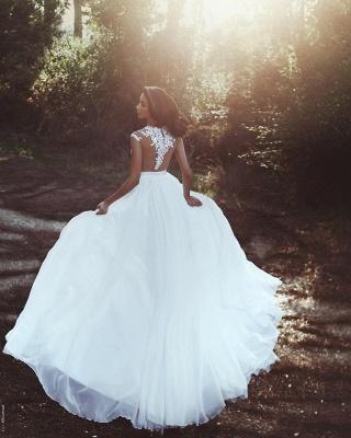 robe de mariée 2021   robe de mariée élégante MM0199_3