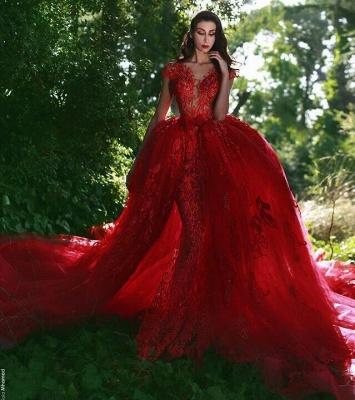 robe de soirée sirène | robe de soirée rouge_2