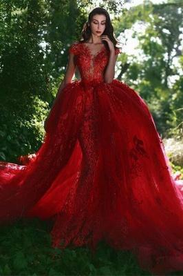 robe de soirée sirène | robe de soirée rouge_1