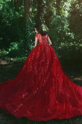 robe de soirée sirène | robe de soirée rouge_3