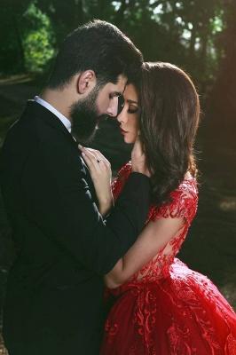 robe de soirée sirène | robe de soirée rouge_4