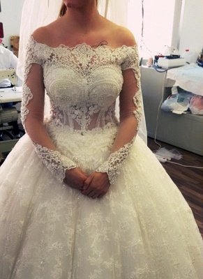 robe de mariée princesse | robe de mariage dentelle_1
