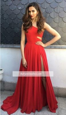 robe de soirée longue | robe rouge simple_1