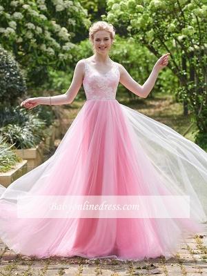 Forme Princesse Longueur ras du sol Avec Bretelles Robes de Demoiselles d'Honneur avec Dentelle_3