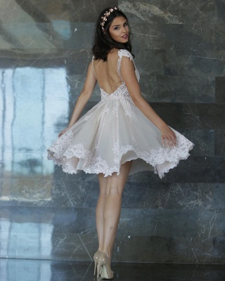 robe de soirée courte   robe de soirée mi longue chic_2