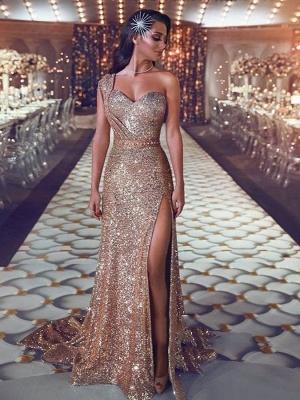 Robe de soirée longue pailletée brillante | robe de soirée cérémonie chic_1