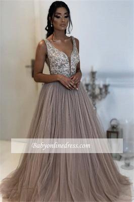 Robe de bal princesse tulle chic   Robe de soirée princesse tulle chic_2