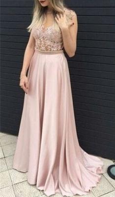 Forme princesse robe de soirée avec perle et dentlle bonne qualité longueur sol_1