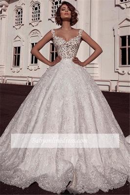 Robe de mariée princesse sublime | Robe de mariage princesse avec appliques_2