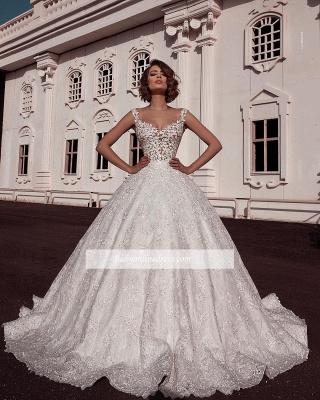 Robe de mariée princesse sublime | Robe de mariage princesse avec appliques_1
