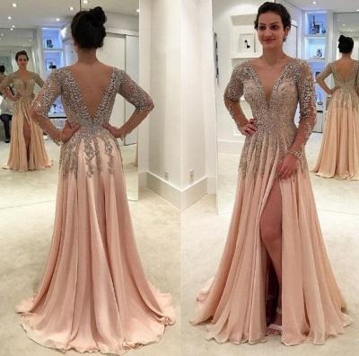 robe de soirée longue pas cher | robe de cérémonie pour mariage MM0215_3