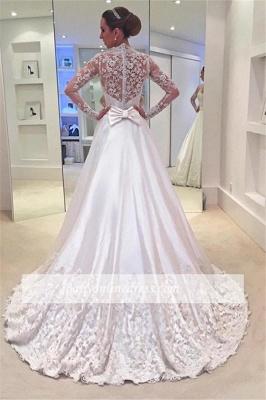 Forme Princesse alayage/Pinceau train Robes de mariée 2020 avec Appliques_1