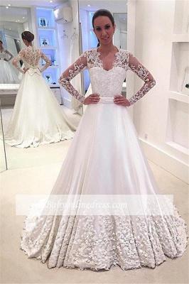 Forme Princesse alayage/Pinceau train Robes de mariée 2020 avec Appliques_2
