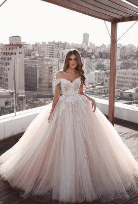 Robe de mariée princesse tulle chic | Robe de mariage princesse épaules nues