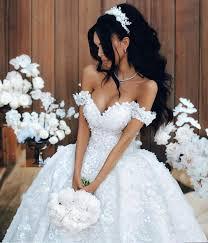 robe de mariée de princesse de luxe | robe de haut de gamme_2